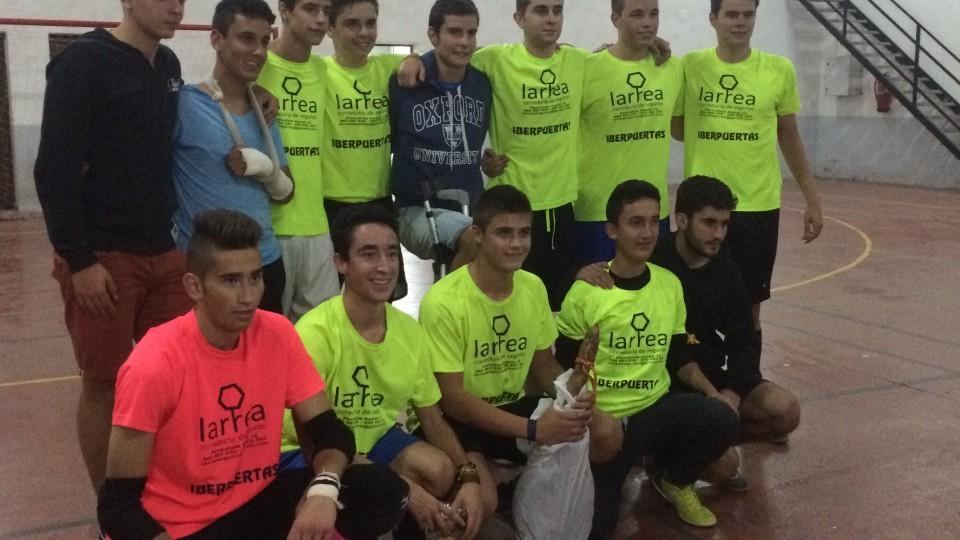 Campeonato de fútbol sala 2015