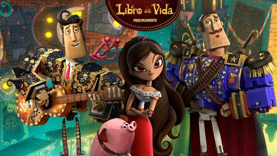 Cine en Teruel. 19 de noviembre: El libro de la vida