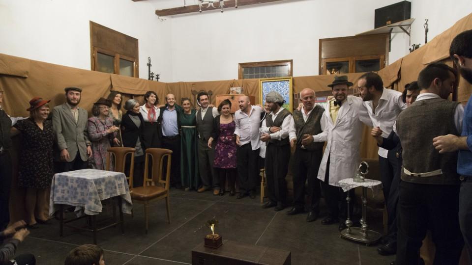 Teatrauderos en Galve, Viva el Teatro!!
