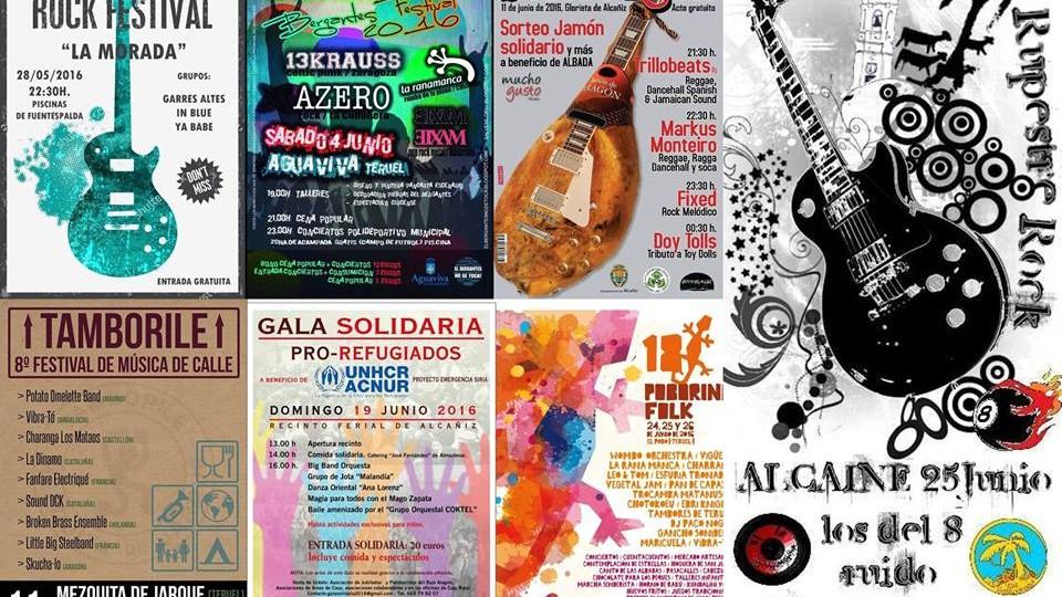Festivales: verano 2016