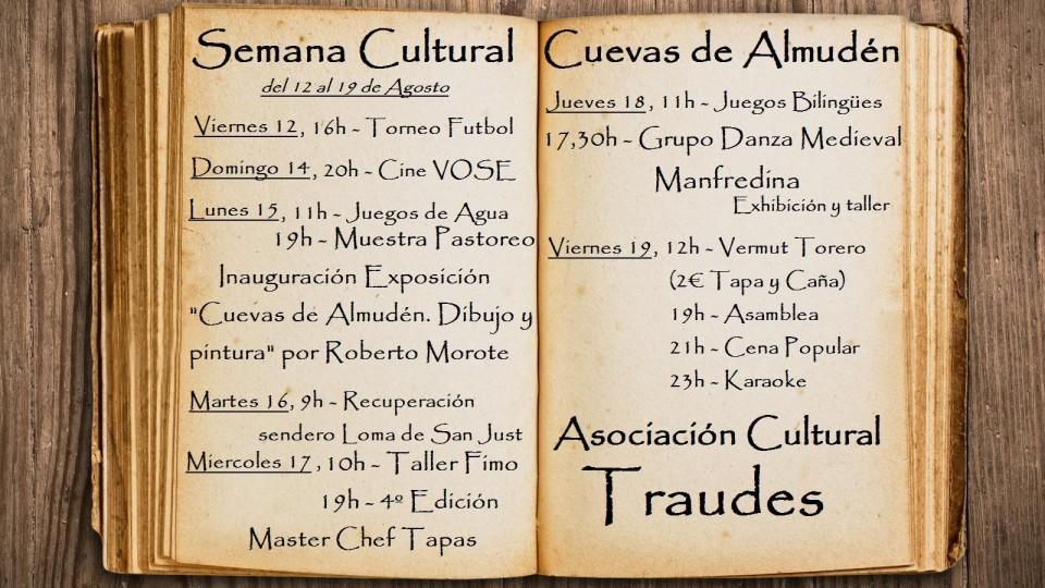 Semana Cultural Cuevas de Almudén