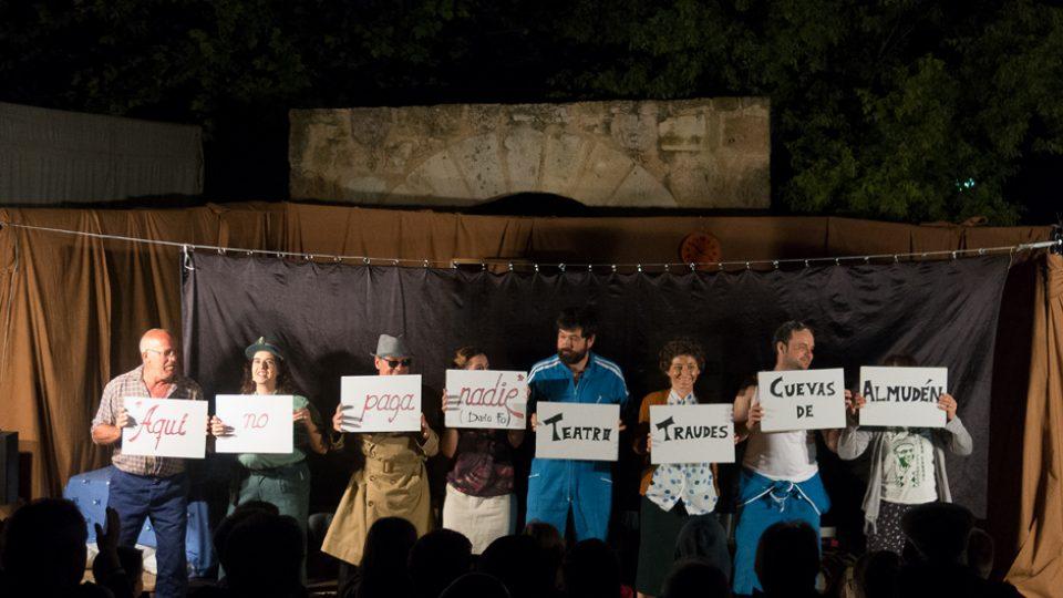 «Aquí no paga nadie» en Cuevas