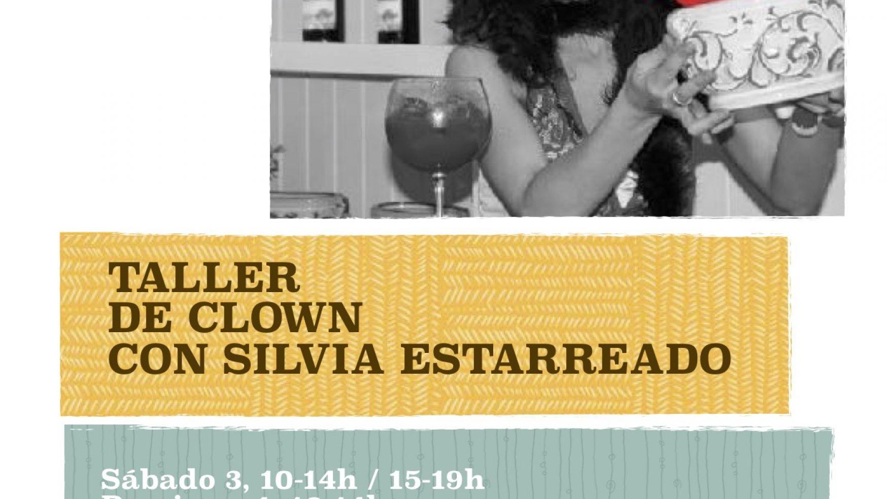INVIERNO: Taller de clown con Silvia Estarreado