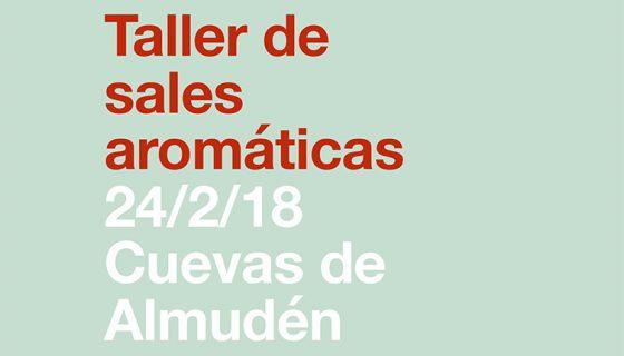 INVIERNO II: TALLER DE SALES AROMÁTICAS.