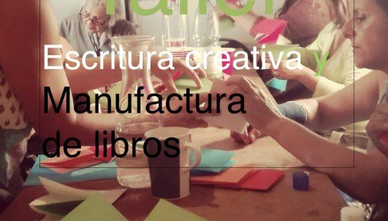 PRIMAVERA: Taller de escritura creativa y manufactura de libros cartoneros