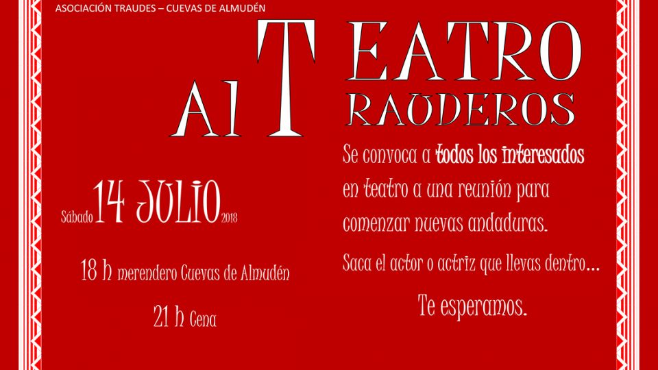 Nueva temporada Teatro Traudes